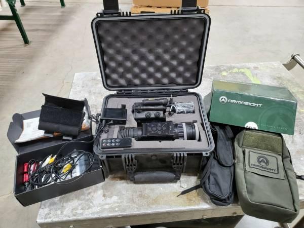 Flir Zeus-Pro 640 2-16×50 30hz With HD DVR AMRF2200 Rangefinder Armasight